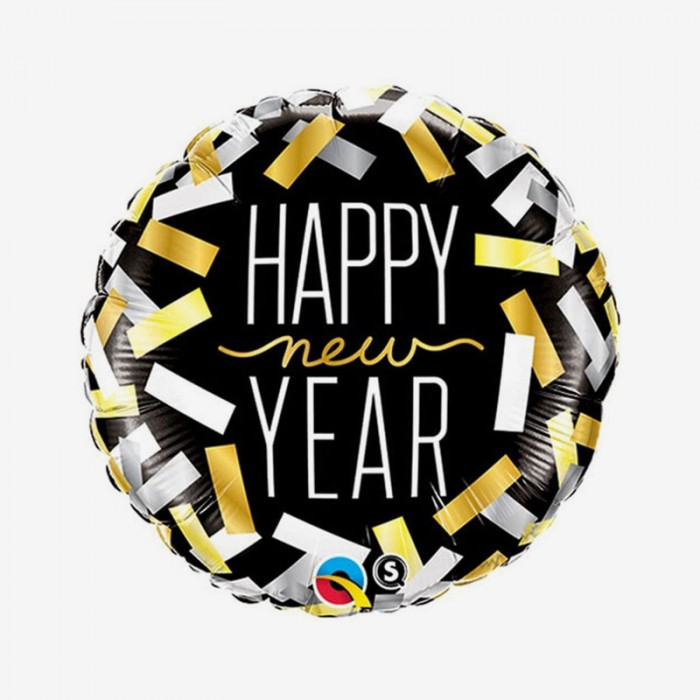 Folieballong - New Year Confetti Strips