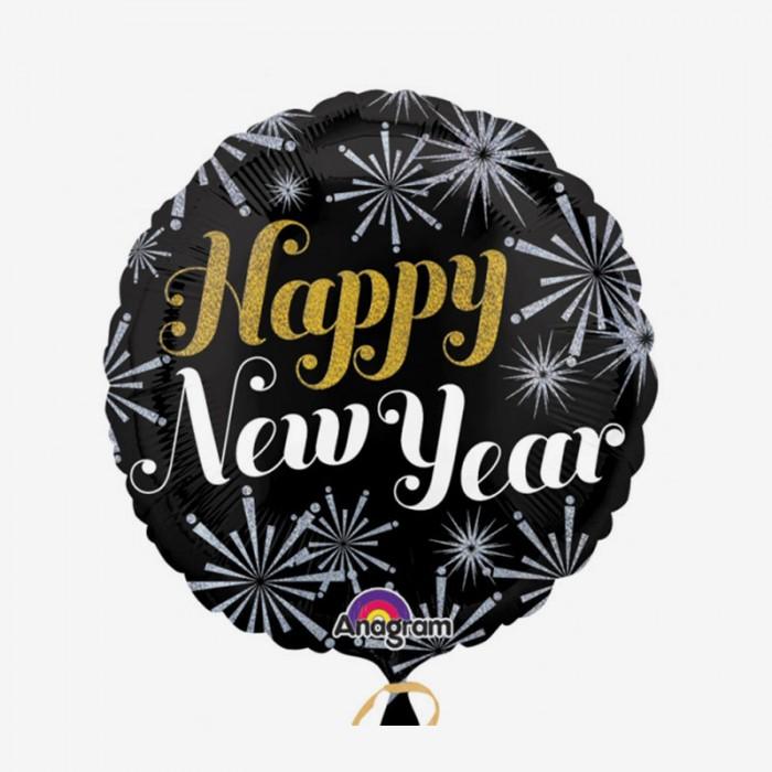 Folieballong - New Year Pizzaz