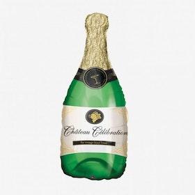 Folieballong - Champagneflaska