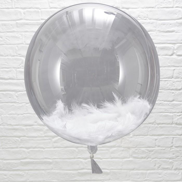 Fjäderballonger - 3-pack