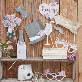 Photo Booth - Rustic Country