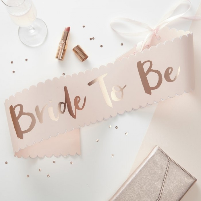 Sash Bride To Be - Rosa