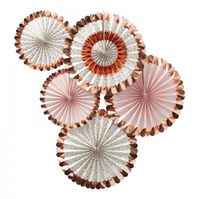 Pinwheels - Rosé Ditsy Floral