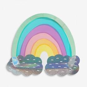 Tallrikar Over the Rainbow