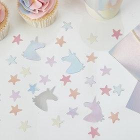 Konfetti Unicorn & Star