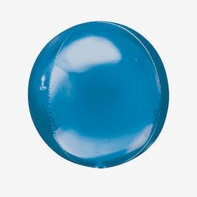 Folieballong - Orbz Blå