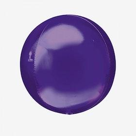 Folieballong - Orbz Lila