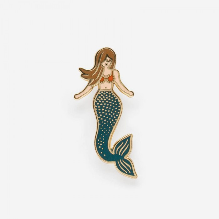 Enamel Pin - Mermaid