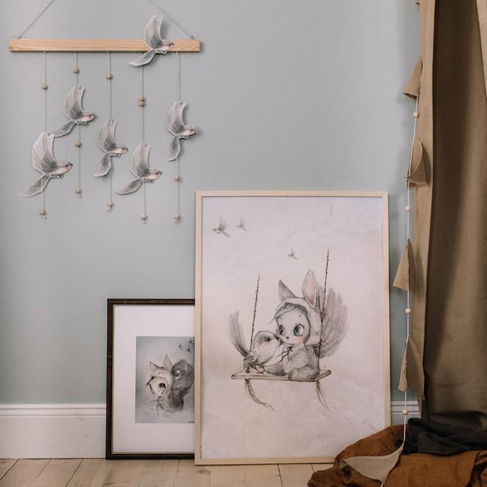 Oh Birds (DIY Fåglar) -  Mrs Mighetto