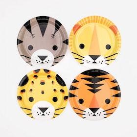 Tallrikar Mini Felines