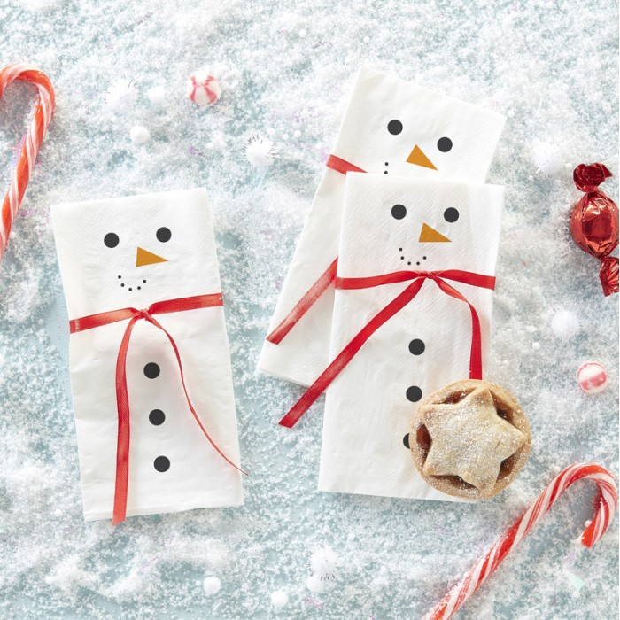 Servetter Snowman scarf