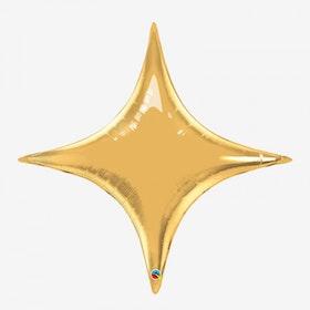 Folieballong - Starpoint Guld