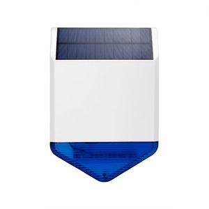 SUMOGUARD Utomhussiren Solar Blinkande 110dB