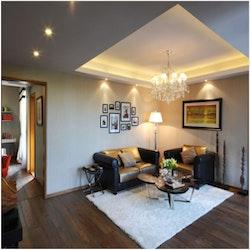 LED-downlight Warm White 12W