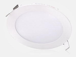LED downlight slimmad med drivdon 12W vit