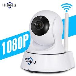 Hiseeu Trådlös CCTV Övervakningskamera 1080P