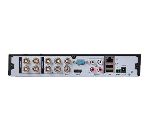 LOFAM 8-kanals övervakningssystem 8st bullet kameror 720P
