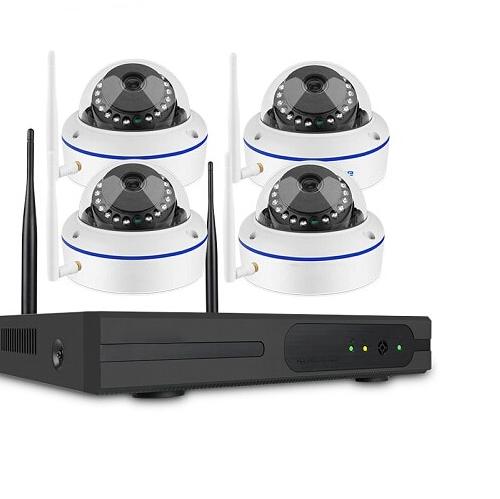 SUMOGUARD Övervakningssystem trådlösa IP-kameror, Wi-fi 720P HD