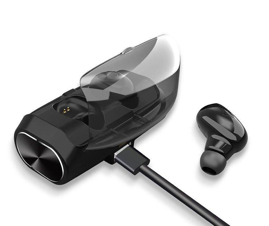 True Wireless Hörlurar Bluetooth 5.0 Extrem batteritid