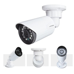 H.VIEW övervakningssystem 720P 4 kameror IP66 1TB