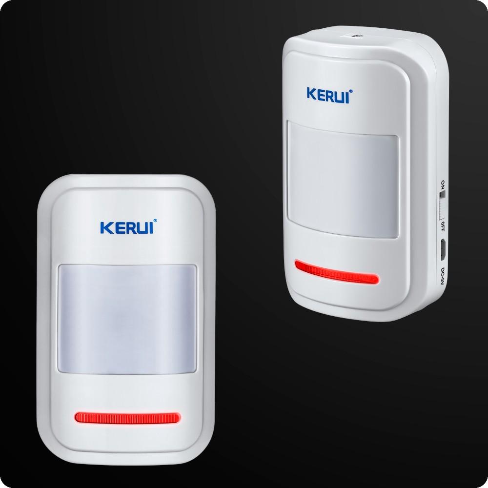 KERUI Komplett GSM RFID Trådlöst Hemlarm Rökdetektor