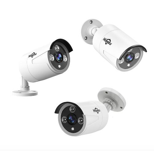 HISEEU Komplett Övervakningssystem 8st WiFi IP-kameror 1080P 2TB