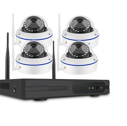 SUMOGUARD Övervakningssystem trådlösa IP-kameror, 1080P HD + 3TB