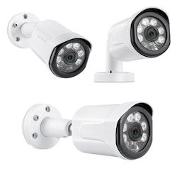 Sumoguard PoE Övervakningssystem 1080P 4 Kameror IP66 2MP Ljudupptagning 3TB