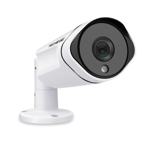 Techege PoE Övervakningssystem 1080P 8Kameror IP67 4TB