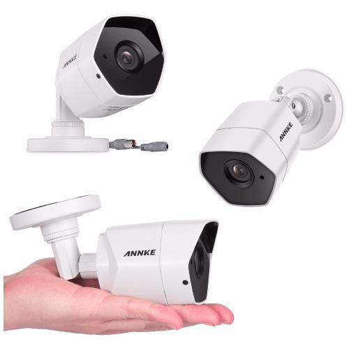 ANNKE Övervakningssystem 4st kameror 1080P IP66 4TB