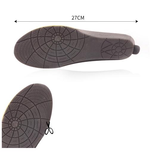 Uppvärmningsbara skoinlägg stl. 35-40