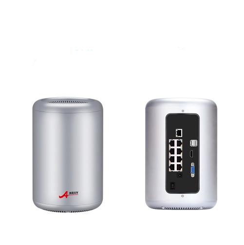 ANRAN PoE Övervakningssystem 8 st kameror 5MP IP66 2TB