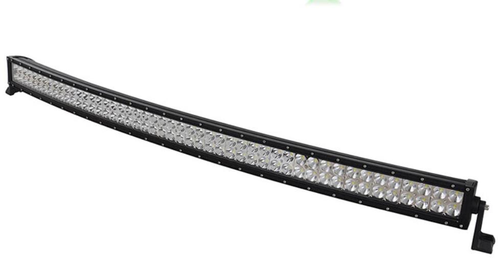 "LED-ljusramp 52"" 300W 30000LMS Böjd ledramp"