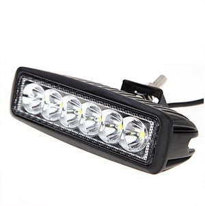 LED Extraljus 18W Flood-ljus 6""