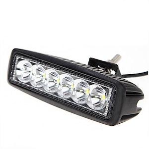 "LED Extraljus 18W Spot-ljus 6"" 2-pack"