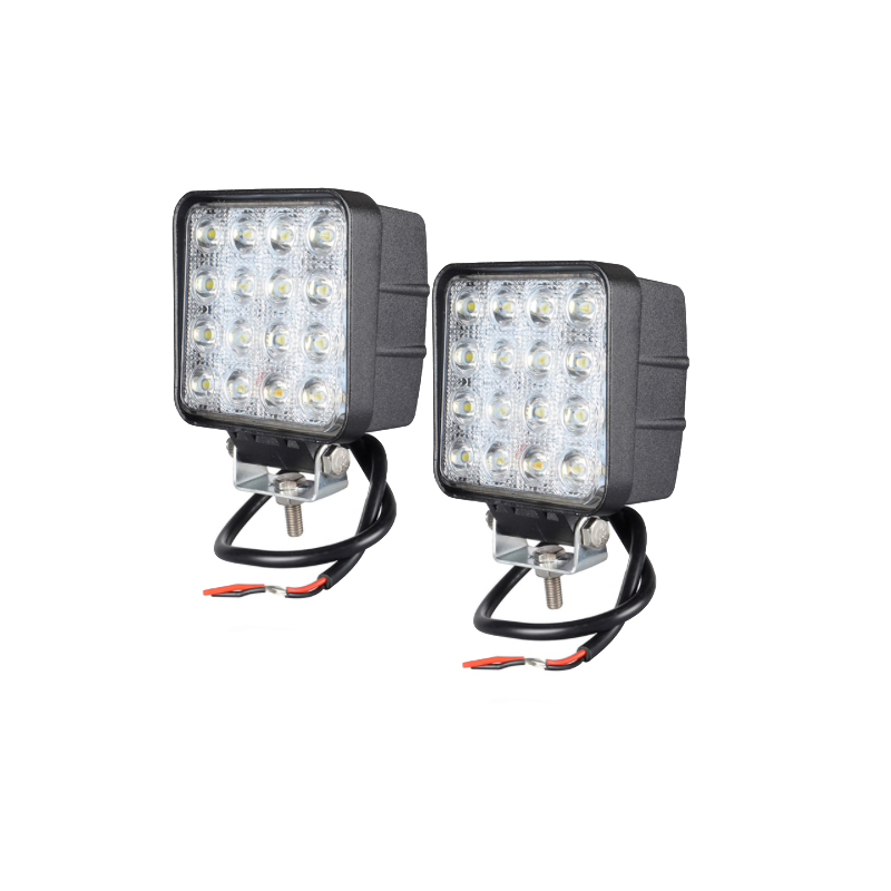 LED Extraljus 48W Flood-ljus 2 stycken