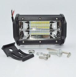 LED Extraljus arbetsbelysning 72W FLOOD-ljus