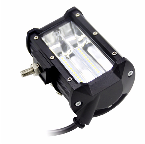 """LED Extraljus 72W FLOOD-ljus 5"""" 2-pack"""
