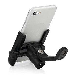 Universalhållare Mobil Cykel MC Spegelhållare Laddare  USB-C