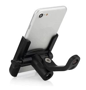 Universalhållare Mobil Cykel MC Spegelhållare Laddare min USB