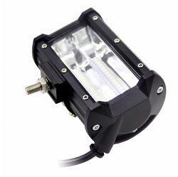 "LED Extraljus 72W Spot-ljus 5"" 2-pack fjärrkontroll"