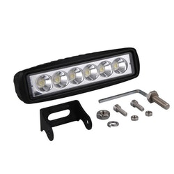 "LED Extraljus 18W Spot-ljus 6"" 2-pack fjärrkontroll"
