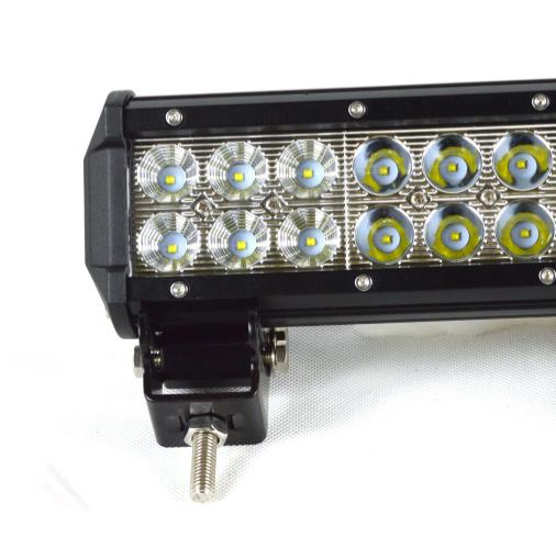 "LED-ljusramp 12"" 72 W 7200LMS ledramp fjärrkontroll"