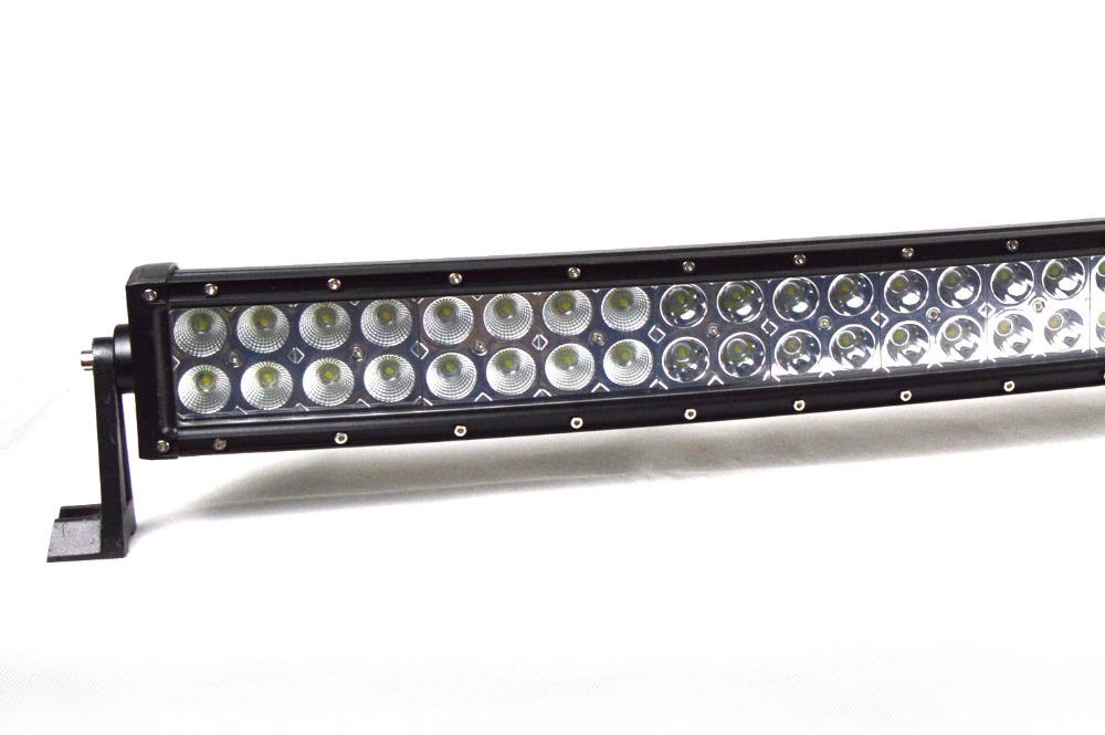 "LED-ljusramp 42"" 240W 19200LMS  böjd ledramp fjärrkontroll"