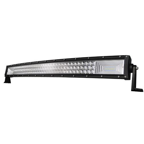 """LED-ljusramp 34"""" 405W curved 40500LMS ledramp fjärrkontroll"""