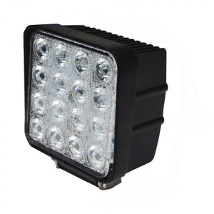 LED Extraljus 48W Flood-ljus fjärrkontroll
