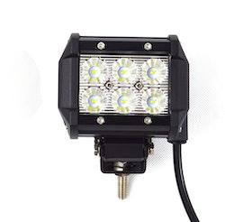 LED Extraljus 18W Flood-ljus fjärrkontroll