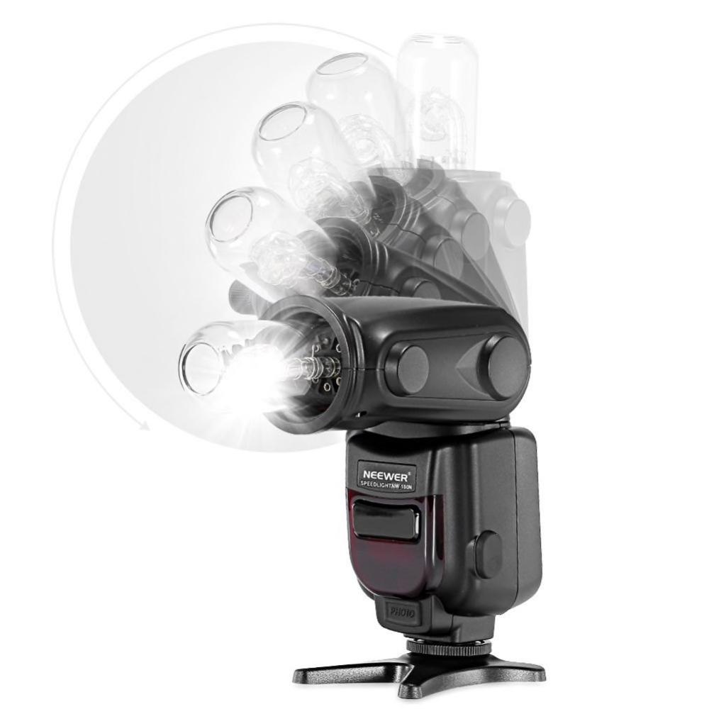 NEEWER TTL 180N DSLR Speed Kamerablixt Canon Nikon