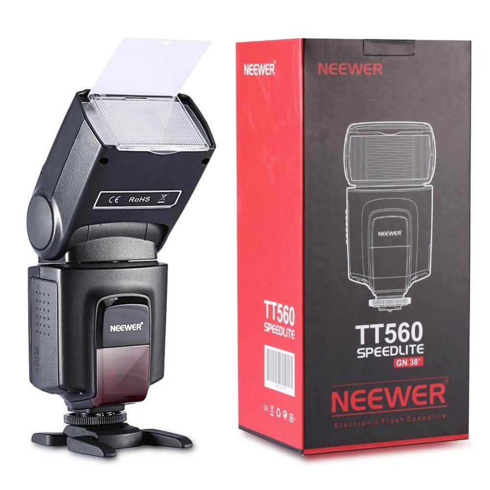 NEEWER TT560 Kamerablixt Sony Nikon Canon Fujifilm Lumix Olympus