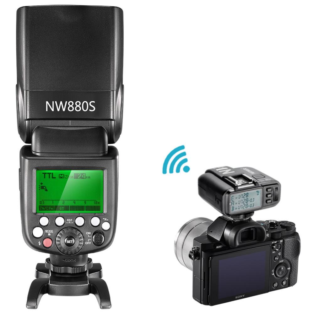NEEWER HSS TTL NW880S DSLR SONY komplett set